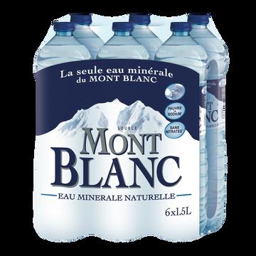 Mont Blanc Eau Minérale Naturelle Mont Blanc, 6x1,5l