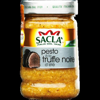 Sauce pesto à la truffe blanche d'été SACLA, bocal de 190g