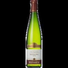 Vin blanc Riesling réserve particulière AOC ARTHUR WEYSBECK, bouteillede 75cl
