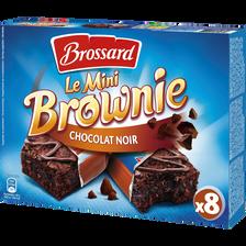 Mini brownie au chocolat noir BROSSARD, 240g