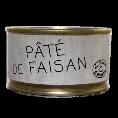 Pâté de faisan LA CUISINE D'ANNETTE, 130g