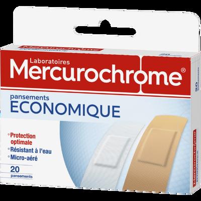 Pansements MERCUROCHROME, x20