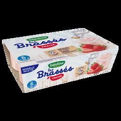 Les brassés fraises BLEDINA dès 6mois 6x95g