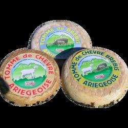 Tomme de chèvre et brebis Ariégeoise au lait pasteurisé, 30% de MG