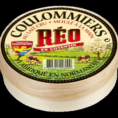 Coulommier au lait cru demi affiné REO, 22%MG, 350g