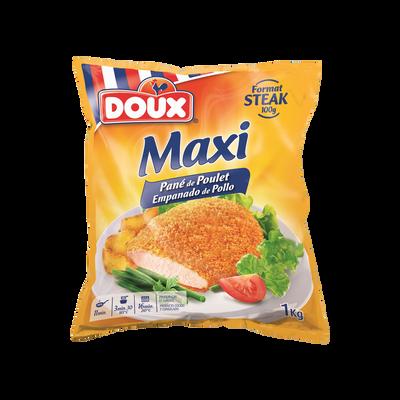 Maxi pané de poulet Label rouge DOUX, 1kg