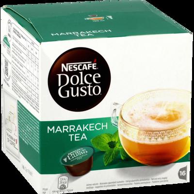 Thé vert à la menthe Marrakech Tea DOLCE GUSTO, 16 capsules soi t 117g