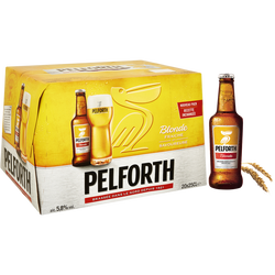 Bière blonde PELFORTH, 5,8°, 20x25cl