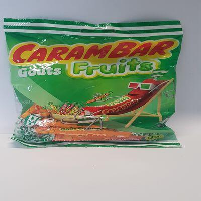 CARAMBAR FRUITS 130G