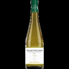 Vin rouge Saumur AOC LA ROCHE AUX LOUPS, bouteille de 75cl