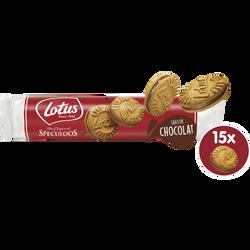 Speculoos fourrés crême saveur chocolat LOTUS 150g