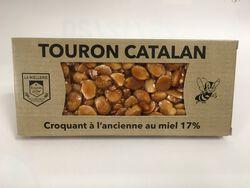 Rayon d'Or - Touron Catalan Croquant à l'ancienne au miel - 200G