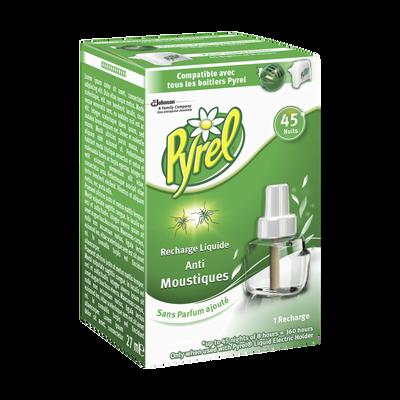 Recharge électrique liquide anti-moustiques PYREL, 45 nuits