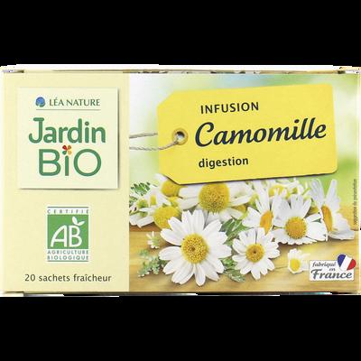 Préparation pour infusion bio JARDIN BIO 28g