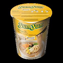 Soupe nouilles cup arôme poulet sans gluten YUM YUM, bol de 66g