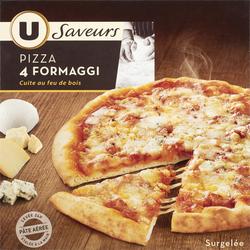 Pizza 4 fromaggi U SAVEURS, 400g