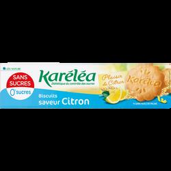 Biscuits citron avec édulcorant KARELEA 132g