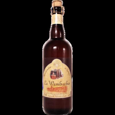 Bière aromatisée au Genièvre WAMBRECHIES, 7,5°, bouteille de 75cl