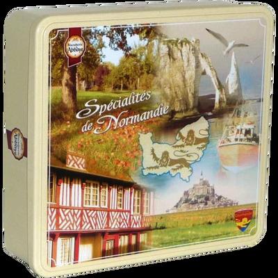 Sablés spécialités de Normandie BISCUITERIE DE L'ABBAYE, boite de 600g