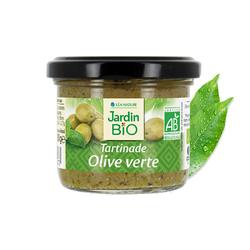 Tartinade d'Olives vertes JARDIN BIO 100g