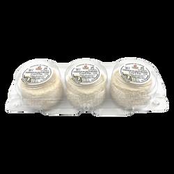 Crottin affiné, au lait thermisé de chèvre, 23%MG, 60gx3, TRADITIONS TERROIRS