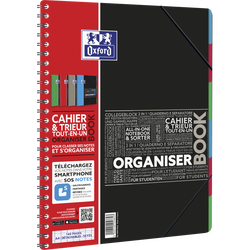 Organiserbook OXFORD 160 pages seyes, 21x29,7cm