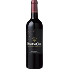Vin rouge AOP Bordeaux MOUTON CADET,13°, 75cl
