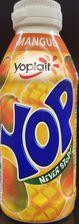 Yaourt à boire YOP, parfum mangue, bouteille de 250G
