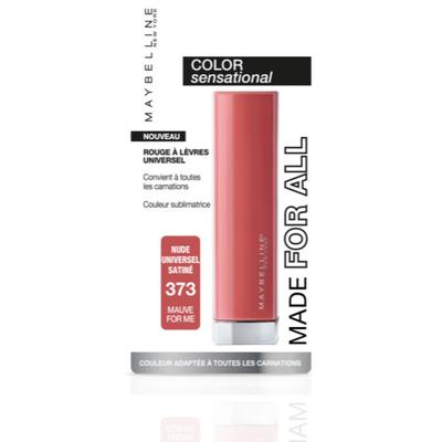 Rouge à lèvres color sensational made for all 373 MAYBELLINE