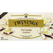 Douce France Thé Aromatisé Vanille Twinings, 25 Sachets, 50g