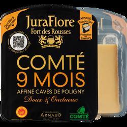 Comté AOP au lait cru affiné 9 mois affinage JUR AFLORE, 35%mg, 200g