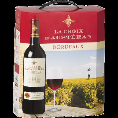 Bordeaux AOC rouge La Croix d'Austéran Bib 3litres