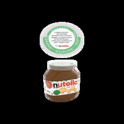 Pâte à tartiner NUTELLA édition limitée Noël, pot de 825g avec tampons à biscuits