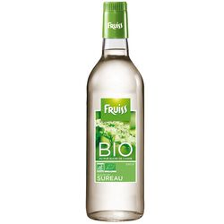 Sirop au sureau bio FRUISS BIO, bouteille de 500ml