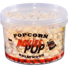 Pop Corn sucré, MOVIES POP, seau 250g