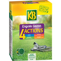 Engrais gazon KB, 4 actions, small 85m2