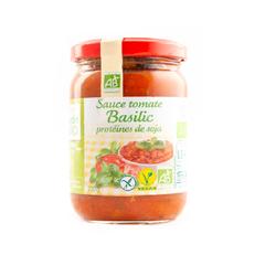 Sauce tomate basilic aux protéines de soja sans gluten - Jardin Bio 200g