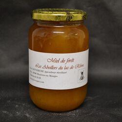 Miel de forêt, LES ABEILLES DU LAC DE RIBOU, 500g