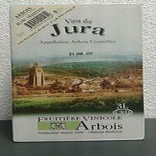 """Vin du Jura Arbois Blanc Tradition """"Fruitière Vinicole d'Arbois"""" 3L"""