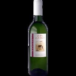 """Vin blanc de pays des Côteaux de l Ardèche """"Le Pas de La Mûle"""", 75cl"""