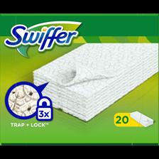 Lingettes anti poussière SWIFFER Dry, 20 lingettes
