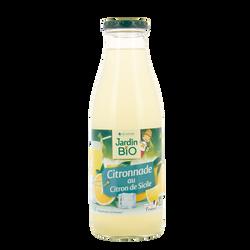 Pur jus citronnade 100% bio JARDIN BIO 75cl