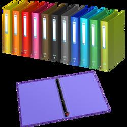 Classeur elba schoolLife, 4 anneaux, dos 40mm, 21x29,7cm, coloris assortis