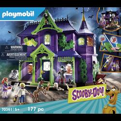 Playmobil Scooby doo!  - Histoire dans le manoir - 70361 - Dès 5 ans