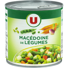 Macédoine de légumes U, boîte de 265g