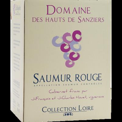 Vin rouge Saumur AOP Domaine des Hauts de Sanziers, cubis de 3l