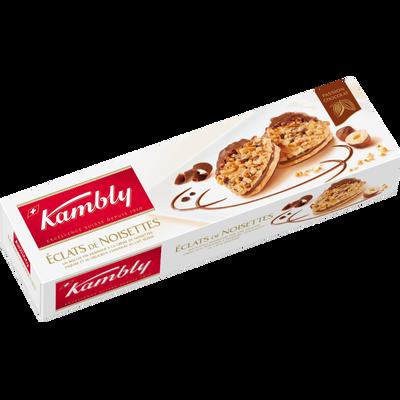 Biscuits éclats de noisettes KAMBLY, 100g