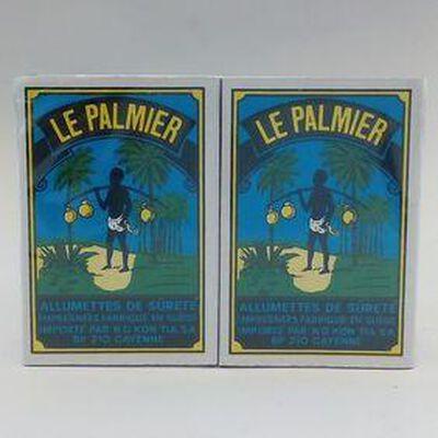 ALLUMETTES LE PALMIER 10 BOITES