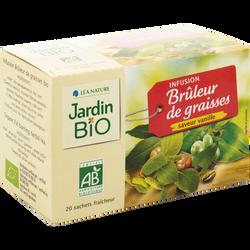 Infusions Brûleur JARDIN BIO, 30g