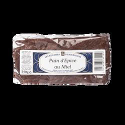 Pain d'épices au miel LES RUCHERS DE BOURGOGNE, 250g